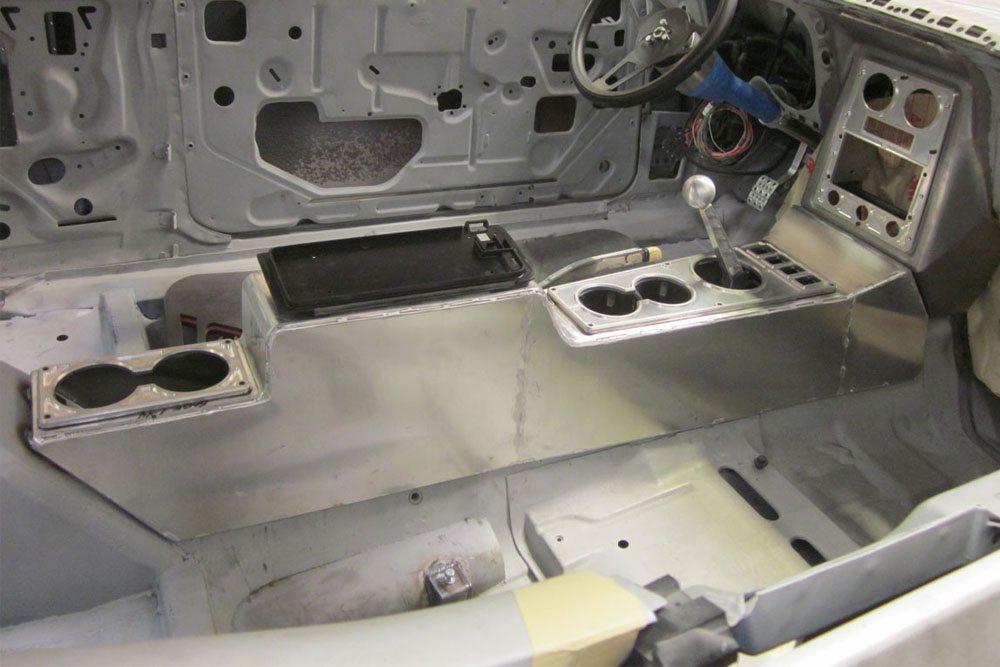 JCG Restoration Custom Console